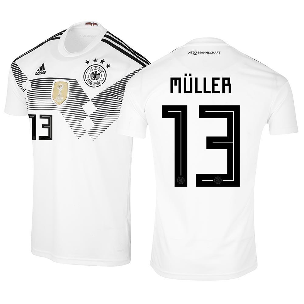 MAILLOT MULLER. ALLEMAGNE DOMICILE 2018-2019