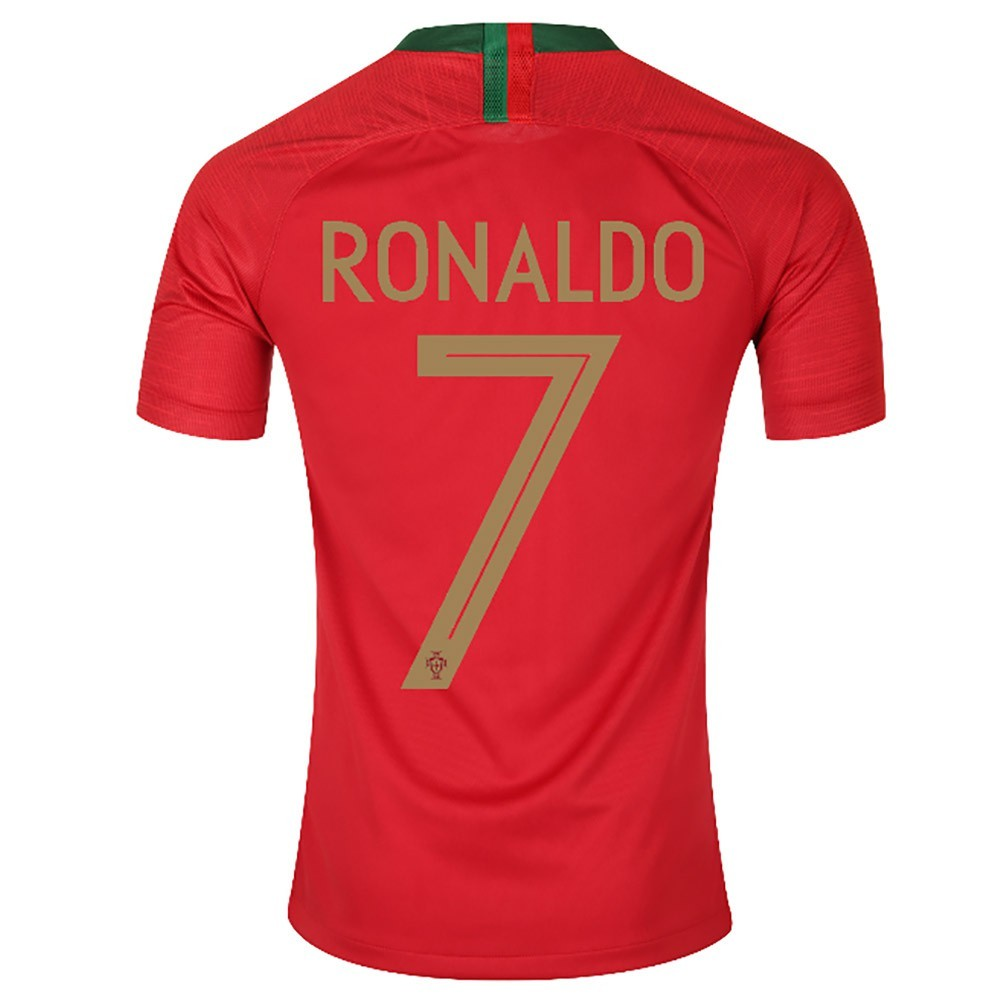 MAILLOT RONALDO. PORTUGAL DOMICILE 2018-2019