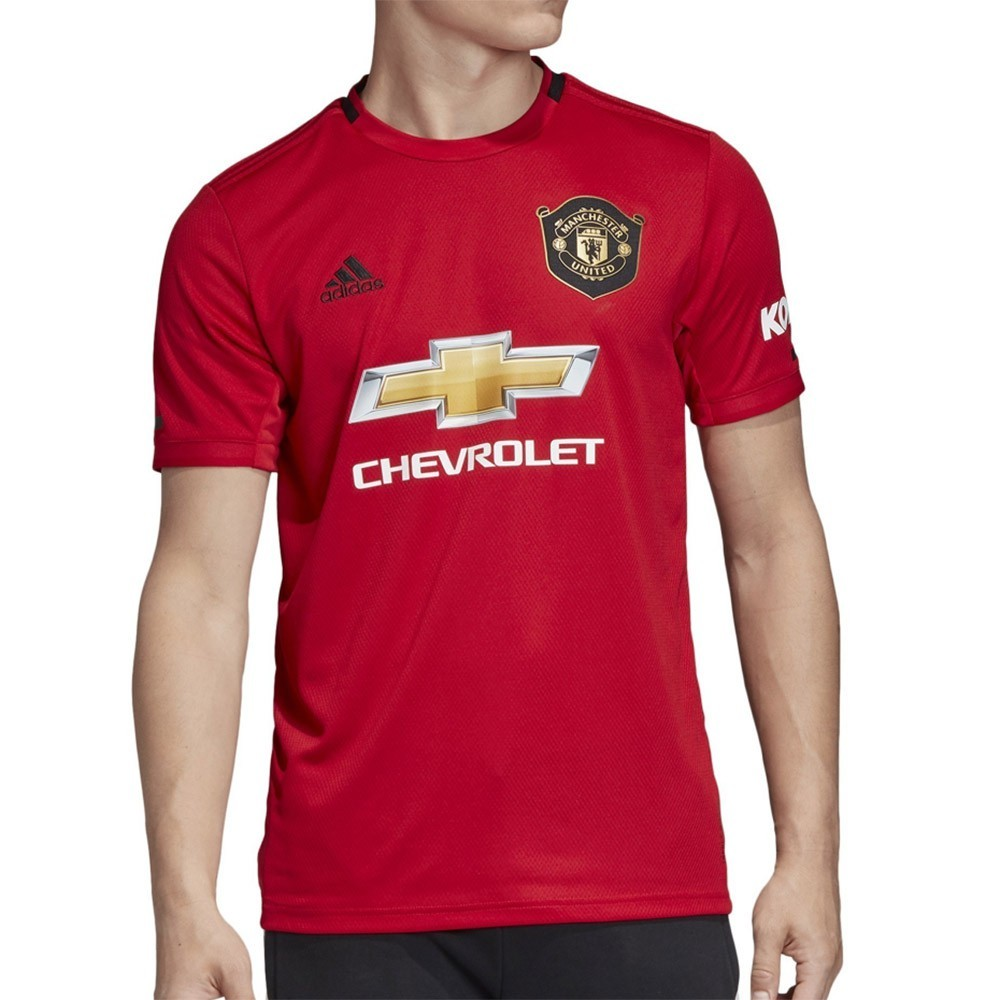 PACK MANCHESTER UNITED DOMICILE. ENSEMBLE ADULTE MAILLOT ET SHORT 2019-2020