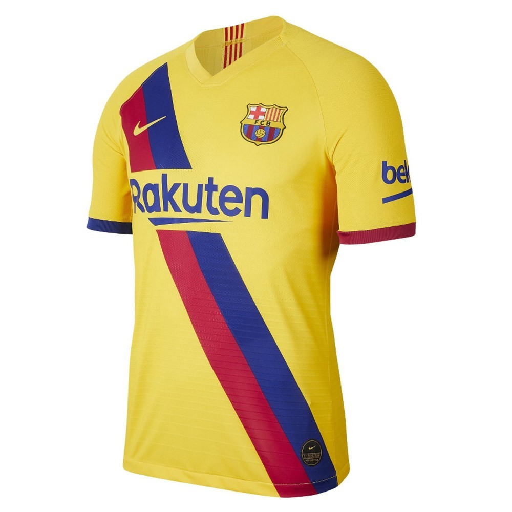 PACK JUNIOR FC BARCELONE DOMICILE. ENSEMBLE MAILLOT ET SHORT 2019-2020