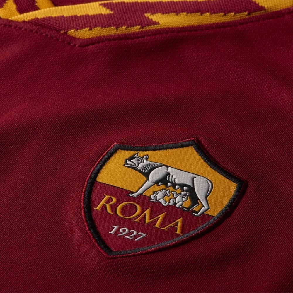 PACK JUNIOR AS ROMA DOMICILE. ENSEMBLE MAILLOT ET SHORT 2019-2020