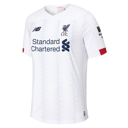 PACK JUNIOR LIVERPOOL EXTERIEUR. ENSEMBLE MAILLOT ET SHORT 2019-2020