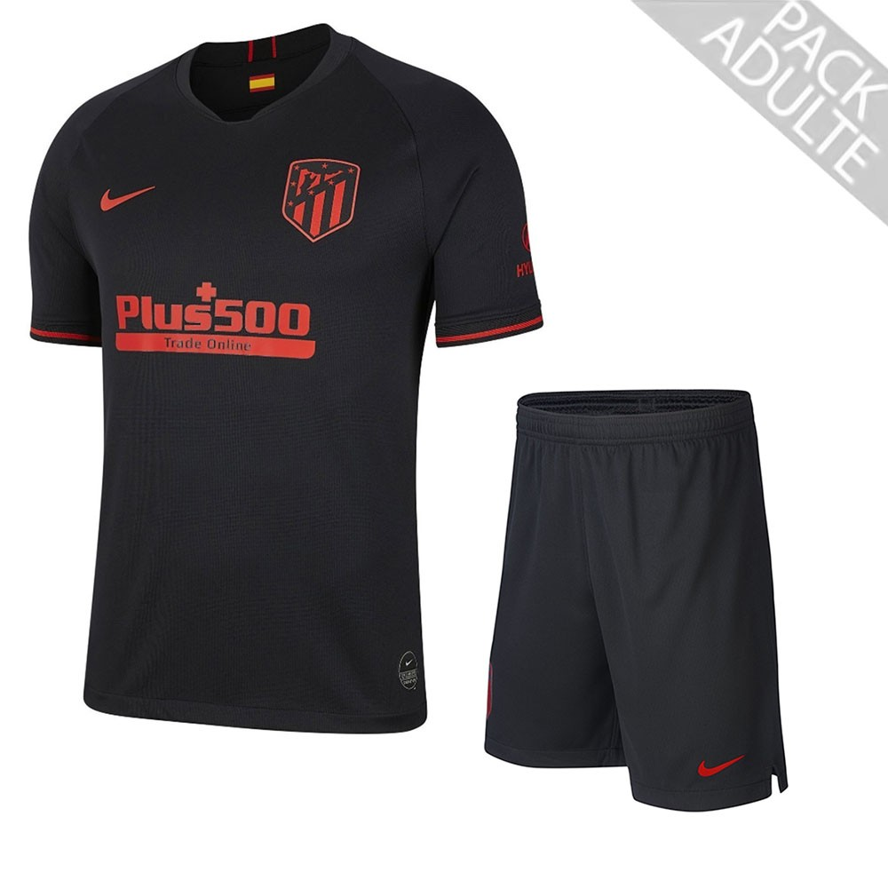 PACK ATLETICO MADRID EXTERIEUR. ENSEMBLE ADULTE MAILLOT ET SHORT 2019-2020