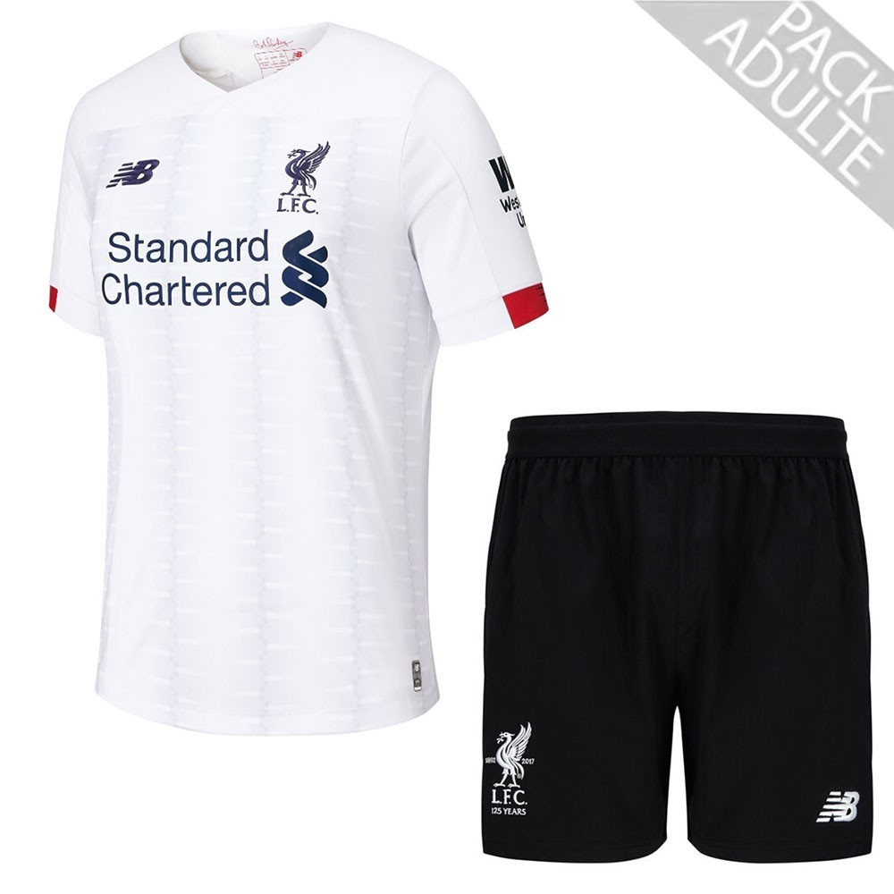 PACK LIVERPOOL DOMICILE. ENSEMBLE ADULTE MAILLOT ET SHORT 2019-2020