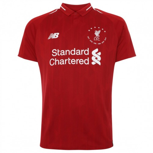 "MAILLOT LIVERPOOL DOMICILE COLLECTION ""6 TIMES"" 2019-2020"