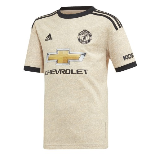 PACK JUNIOR MANCHESTER UNITED EXTERIEUR. ENSEMBLE MAILLOT ET SHORT 2019-2020