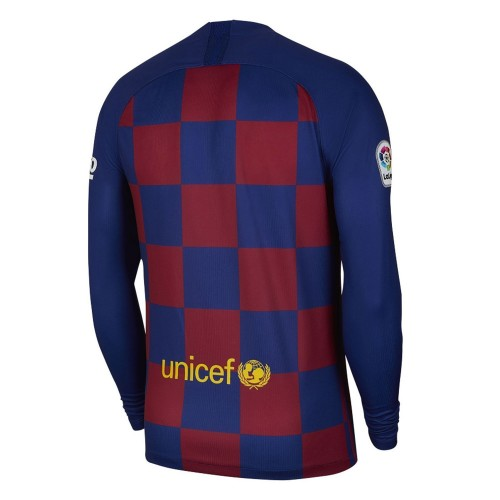 MAILLOT FC BARCELONE MANCHES LONGUES DOMICILE 2019-2020
