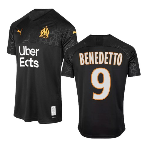 MAILLOT OLYMPIQUE DE MARSEILLE BENEDETTO THIRD 2019-2020