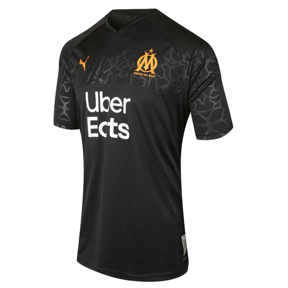 PACK JUNIOR OLYMPIQUE DE MARSEILLE DOMICILE. ENSEMBLE MAILLOT ET SHORT 2019-2020