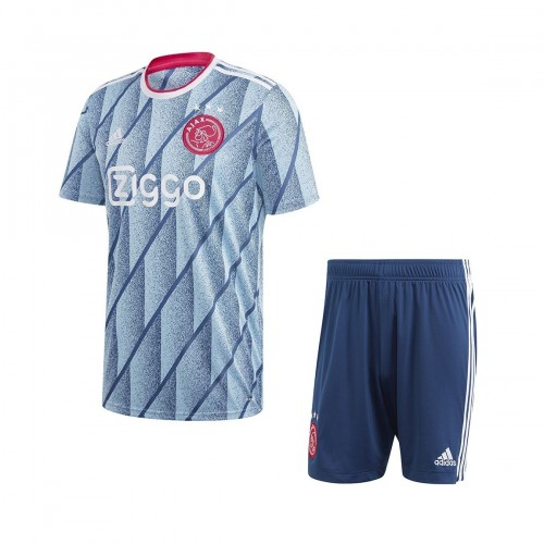 PACK JUNIOR AJAX AMSTERDAM EXTERIEUR. ENSEMBLE MAILLOT ET SHORT 2020-2021