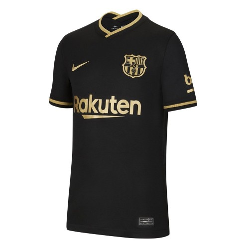 PACK FC BARCELONE EXTERIEUR. ENSEMBLE ADULTE MAILLOT ET SHORT 2020-2021