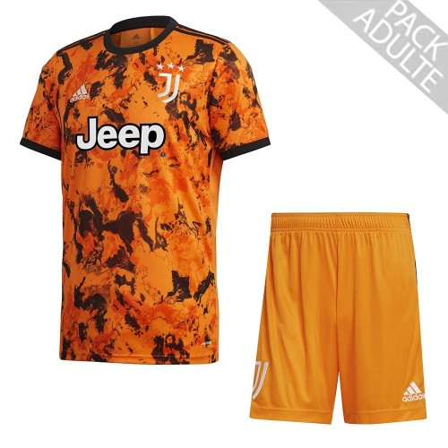 PACK JUVENTUS THIRD. ENSEMBLE ADULTE MAILLOT ET SHORT 2020-2021