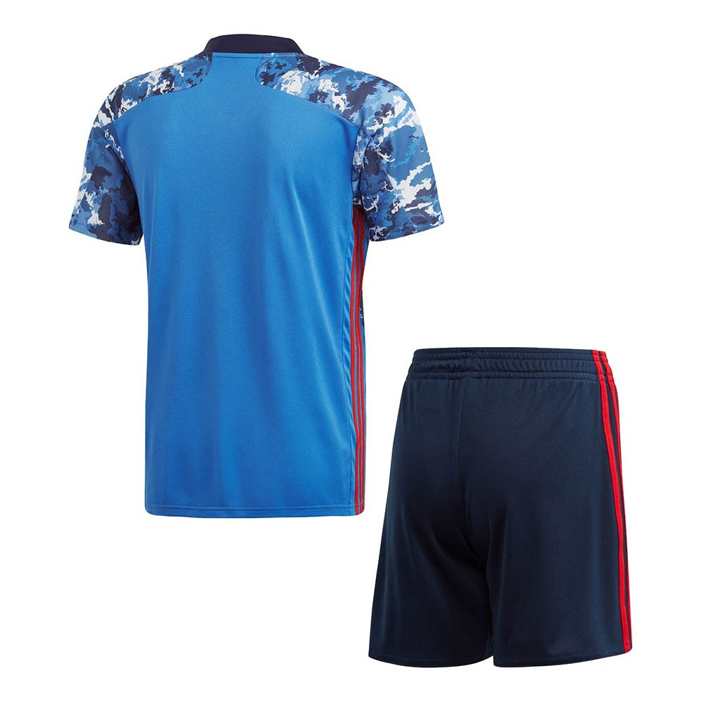 PACK JUNIOR JAPON DOMICILE. ENSEMBLE MAILLOT ET SHORT 2020-2021