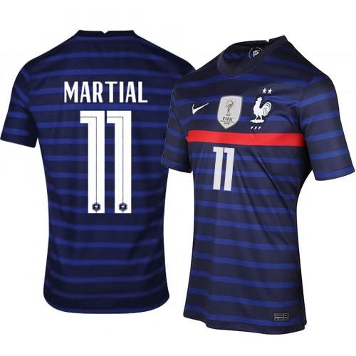 MAILLOT FRANCE DOMICILE MARTIAL 2020-2021