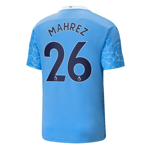 MAILLOT MANCHESTER CITY DOMICILE MAHREZ 2020-2021