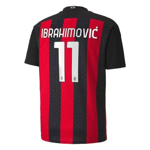 MAILLOT MILAN AC DOMICILE IBRAHIMOVIC 2020-2021