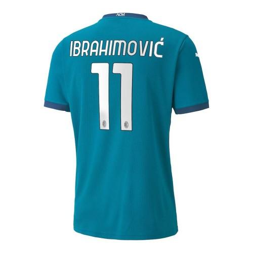 MAILLOT MILAN AC THIRD IBRAHIMOVIC 2020-2021