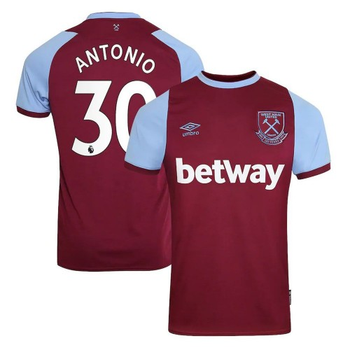 MAILLOT WEST HAM DOMICILE ANTONIO 2020-2021