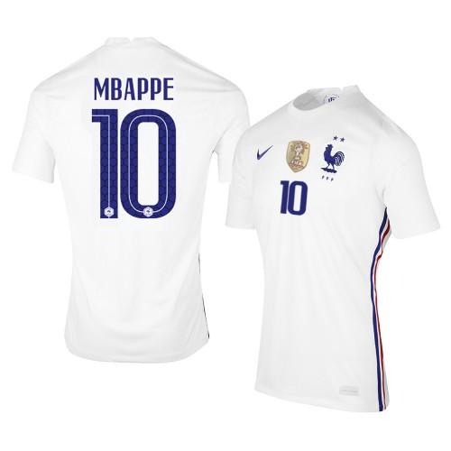 MAILLOT FRANCE EXTERIEUR MBAPPE 2020-2021