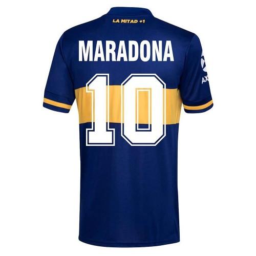 MAILLOT BOCA JUNIORS MARADONA DOMICILE 2020-2021