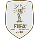 Badge FIFA World Champions 2018