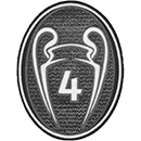 Badge 4 Champions League (-40%) : 6€